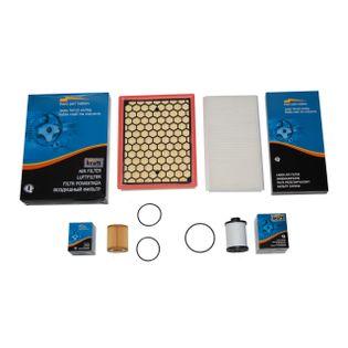 Filtry KRAFT zestaw OPEL Vectra C 1.9 CDTi 4szt.