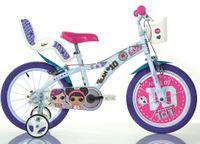 Rower LOL Surprise rowerek LOL Surprise 16 cali dla dziewczynki