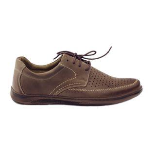 Riko buty męskie półbuty dziurkowane 848 r.40