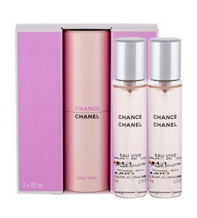 Chanel Chance Eau Vive Woda toaletowa 3x20ml