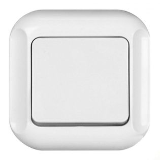 Wyłącznik dzwonek wewnętrzny biały WP-7Tb Timex