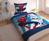 Pościel dla dzieci licencyjna SPIDERMAN - 160x200