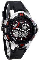 Zegarek Sportowy OCEANIC Avenger LCD/Analog - Wodoszczelny 100M, Stoper, Alarm, Timer - Męski, Dla Chłopaka I Uniwersalny