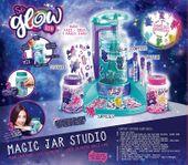 Canal Toys SGD 004 So Glow Slime Świecące słoiczki Fabryka Zestaw do tworzenia glutów slimów