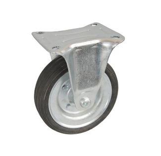 Koła kółka stałe do wózka magazynowego transportowego fi 80, 100 kg