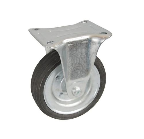 Koła kółka stałe do wózka magazynowego transportowego fi 80, 100 kg na Arena.pl