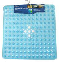 Mata Antypoślizgowa Prysznicowa 53,5x52cm BM037 - niebieski