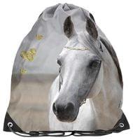 Worek na obuwie z białym koniem, Paso