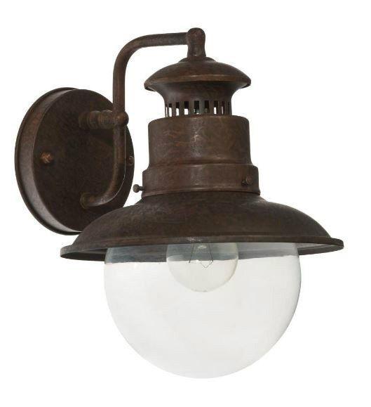 Lampa Ogrodowa Latarnia Retro Garden Ip44 Kinkiet Led Czujnik Zmierzchu Fra