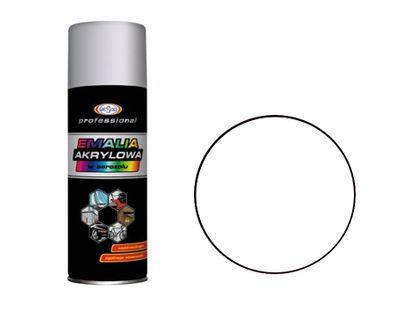 Wesco Lakier Akrylowy Biały matowy RAL9010 Spray