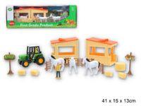 Zestaw farmerski - konie figurki nowe zabawka dla dzieci