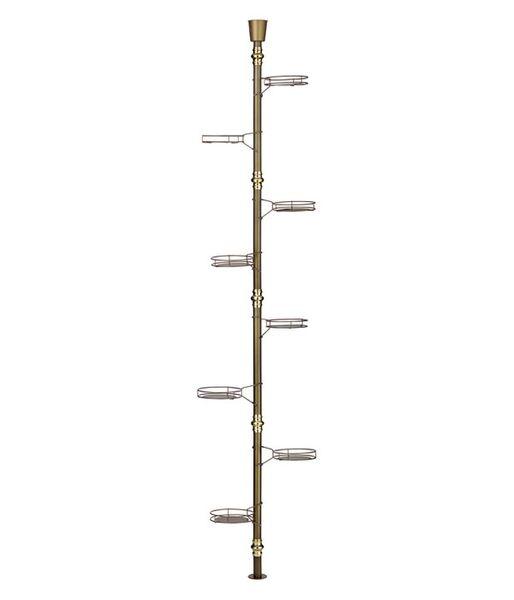 Kwietnik rozporowy - 8ka 260cm - Stojak na kwiaty - 5 kolorów zdjęcie 1