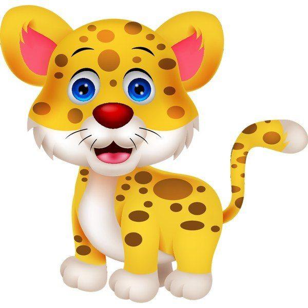 50x50cm Tygrysek naklejka dziecka ścienna zdjęcie 2