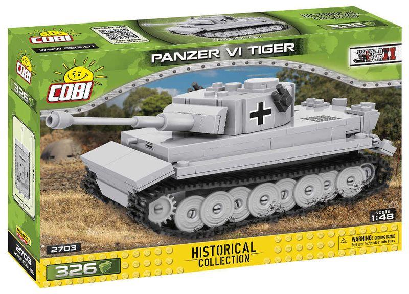 Klocki COBI 2703 Panzer VI Tiger Historical Collection na Arena.pl