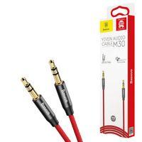 Baseus Yiven M30 kabel mini Jack 3.5mm 1m Kolor - Czerwony