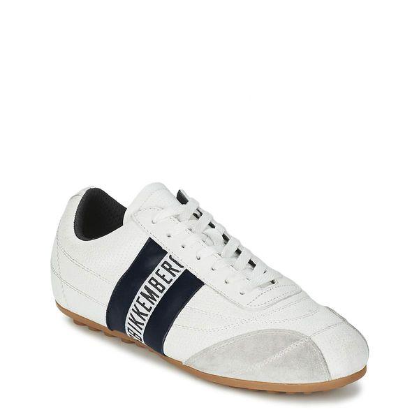 Bikkembergs skórzane sportowe buty męskie sneakersy