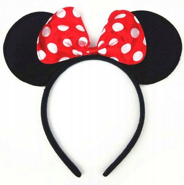 MYSZKA MIKI Mickey Minnie Opaska Uszy Panieński zdjęcie 1