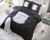 Pościel holenderska Sleeptime Mon Amour Anthracite 200x220