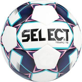 Piłka nożna Select Tempo 4 2019 biało niebieska 15669