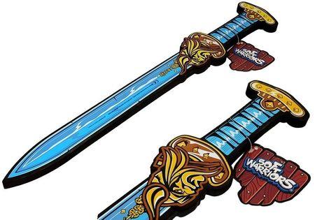 Miecz Niebieski Piankowy Miecz Wikinga 52Cm