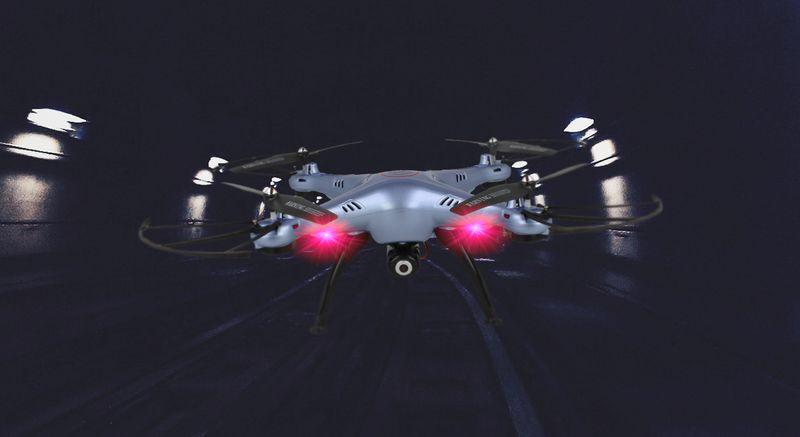 Dron Syma X5HW kamera Wi-Fi funkcja zawisu Niebieski Y142N zdjęcie 6