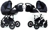 Wózek dziecięcy wielofunkcyjny Spiro 3w1 Eco skóra! Nowy model!