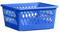 Pojemnik koszyk niebieski na niewielkie przedmioty