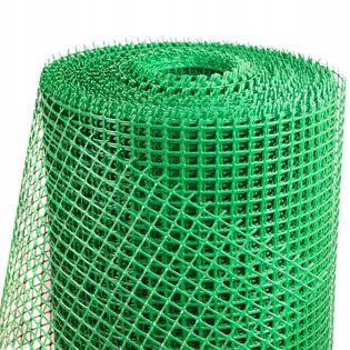 SIATKA OGRODZENIOWA PLASTIKOWA zielona 1,2x50m PCV