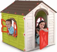 Domek ogrodowy dla dzieci RANCHO PLAYHOUSE Multikolor