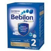 Bebilon 2 z Pronutra+, mleko następne po 6 miesiącu życia, 1200 g - Długi termin ważności!