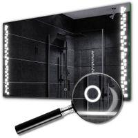 Lustro LED z Włącznikiem Dotykowym 80x60 Detroit