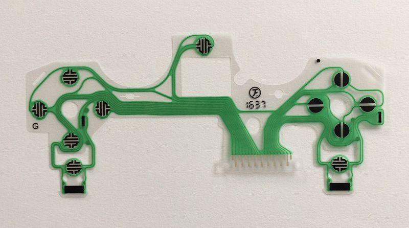 Taśma transmisyjna przyciski pada PS4 JDS-040 V4 zdjęcie 3
