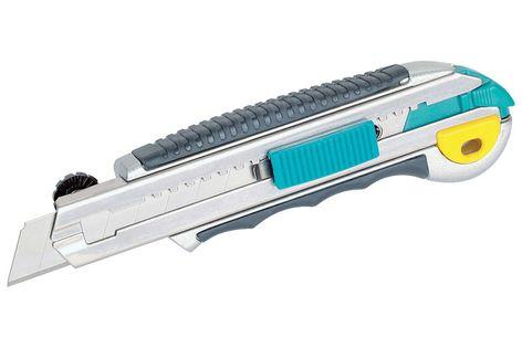 MOTALOWY NÓŻ NOŻYK DO CIĘCIA 18mm + 8 OSTRZY WOLFCRAFT