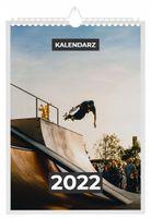 Kalendarz 2022 SKATEBOARD 13 stron A4