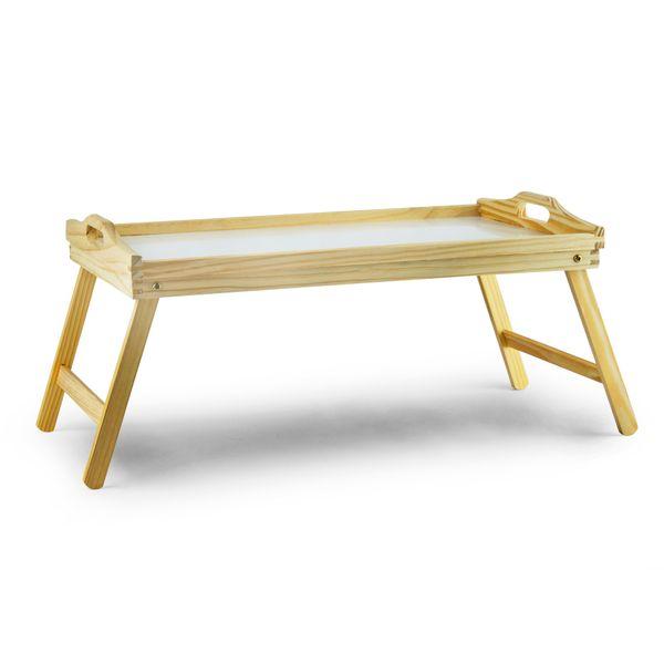 Tacka Taca śniadaniowa Do łóżka Drewniana 50x30 Cm