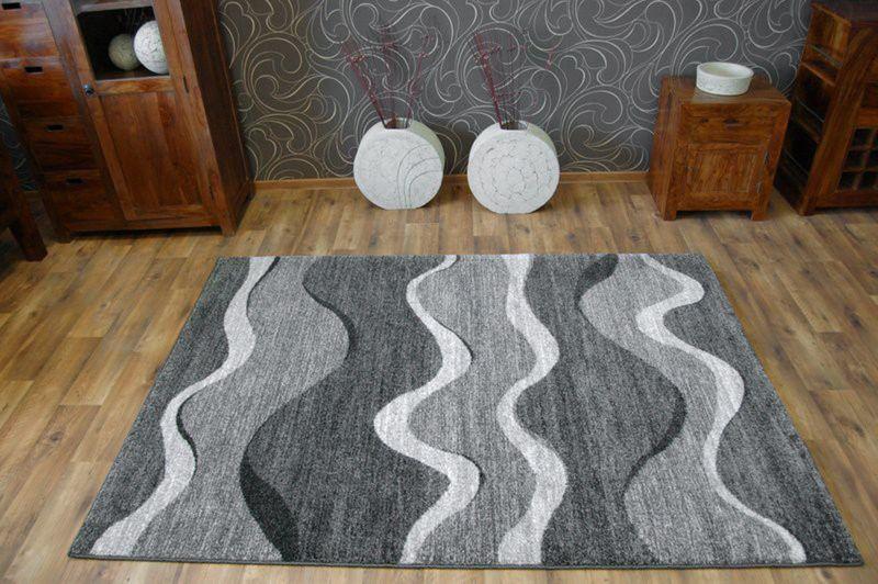Dywan SHADOW 8649 black / light grey 140x190 cm na Arena.pl