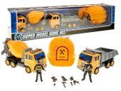 Zestaw 2 Samochodów Ciężarowych 2 Figurki Postacie