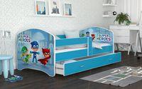 Łóżko 140x80 LUCKY szuflada + materac