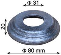 Maskownica stalowa marka kute - do prętów fi 30 mm
