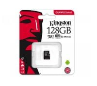 KARTA PAMIĘCI KINGSTON 128GB CLASS10 UHS-I MICRO SD HC CANVAS SELECT