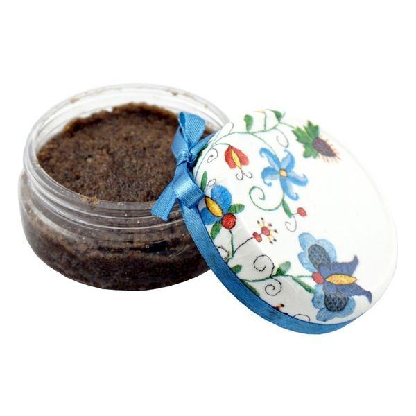 Peeling cukrowy Kawa z masłem Shea i olejem kokosowym - 100g - marki Bioer zdjęcie 1