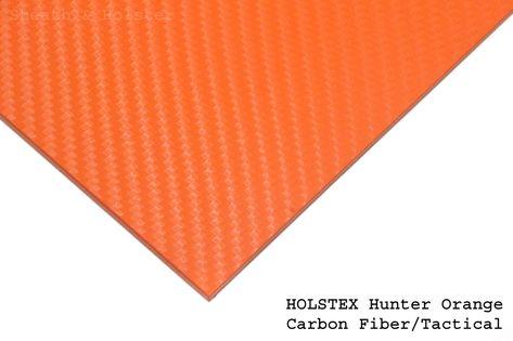 HOLSTEX Carbon Hunter Orange - 200x300mm gr. 2mm