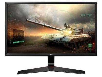 """Monitor Lg 27"""" 1920 X 1080 27Mp59G-P Czarno-Czerwony"""