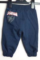 Spodnie dresowe granatowe Spiderman 74-80 George