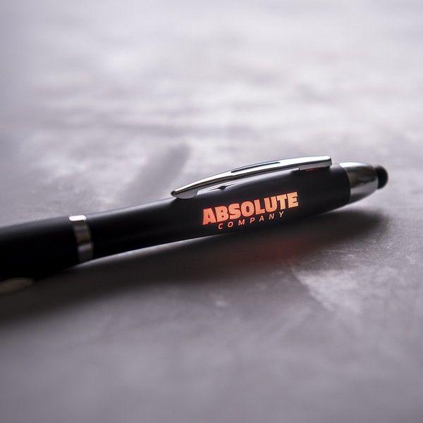 Długopis ze Wskaźnikiem LED 145974 Czarny zdjęcie 2