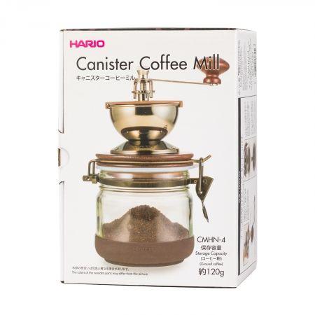 Młynek do kawy ceramiczny japoński CANISTER HARIO na Arena.pl