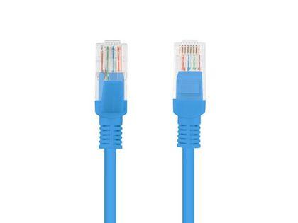 Patch cord Lanberg FTP kat.5e 1,5m niebieski