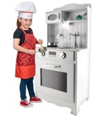 Kuchnia Drewniana Dla Dzieci z Oświetleniem LED U31 zdjęcie 12