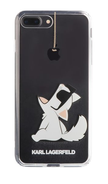 designer fashion 26171 79a02 KARL LAGERFELD iPhone 7 Plus / 8 Plus - CHOUPETTE FUN