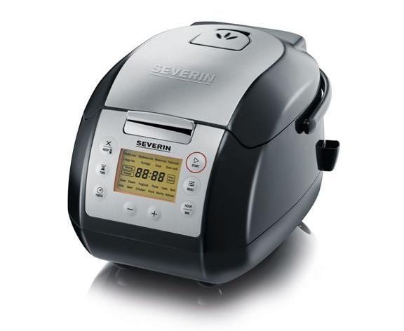 Urządzenie do gotowania SEVERIN 2448 WIELOFUNKCYJNE ~ wolnowar, urządzenie do gotowania ryżu, parowar, garnek zdjęcie 1